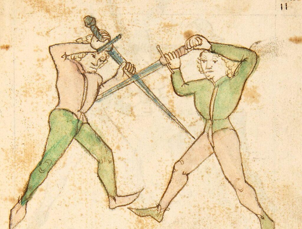 kodex Wallerstein dlouhé meče